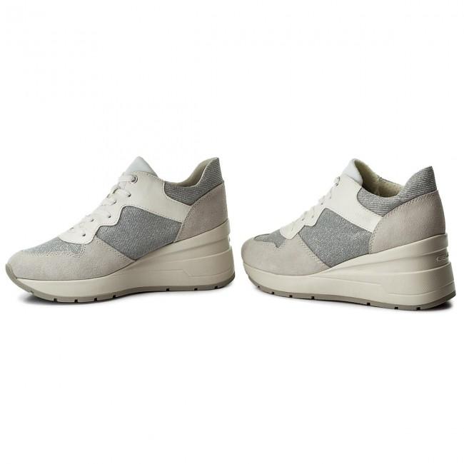 11c9d342fc Sneakers GEOX - D Zosma C D828LC 022EW C0856 Off White/Lt Grey