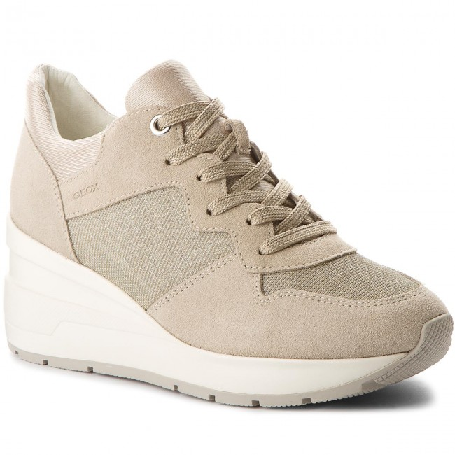 GEOX sneakers donna D ZOSMA C taupe