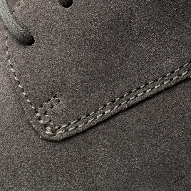 Scarpe basse CLARKS - Vennor Walk 261317507 Grey Suede - Da giorno - Scarpe basse - Uomo