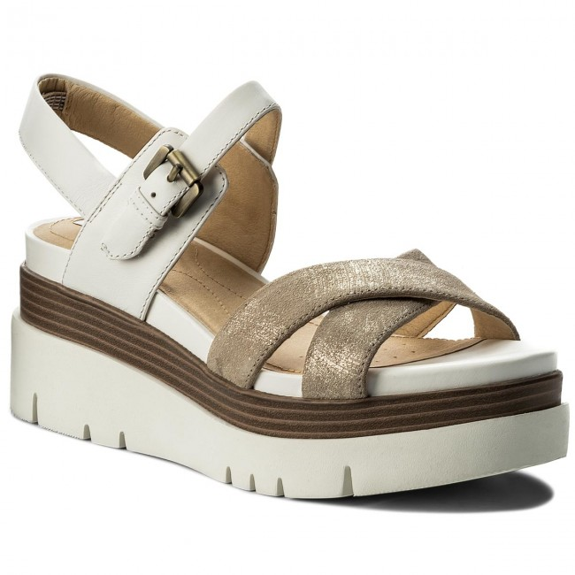 6f6301df9ece95 Sandali GEOX - D Radwa C D827UC 07743 C0917 Lt Gold/White - Sandali da  giorno - Sandali - Ciabatte e sandali - Donna - escarpe.it