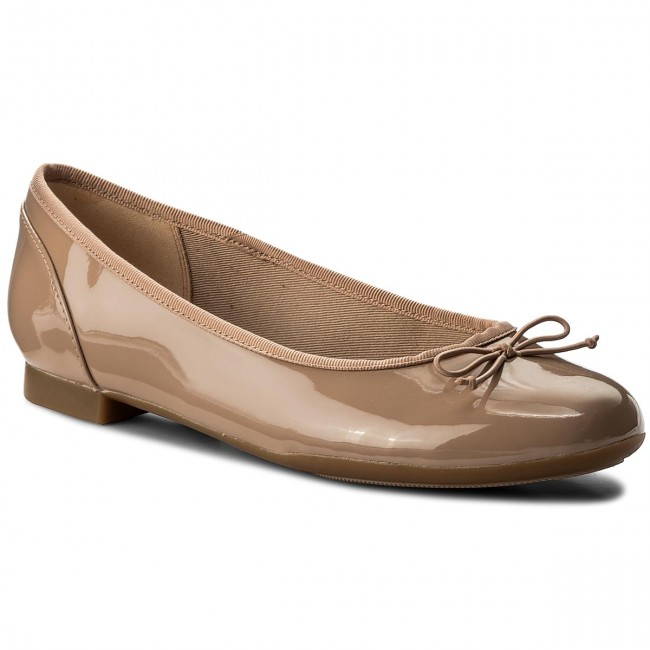 Ballerine CLARKS - Couture Bloom 261339924 Nude Patent