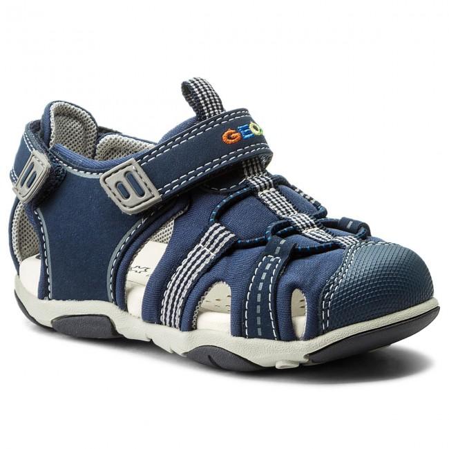 1ef9ae0e2cab6c Sandali GEOX - B S.Agasim B. D B721AD 01550 C0661 S Navy/Grey - Sandali -  Ciabatte e sandali - Bambino - Bambino - escarpe.it