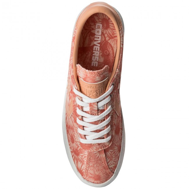 Breakpoint Converse pale Basse Donna Pale Sneakers Coral Scarpe Ox 159775c Coral white cARjLS45q3