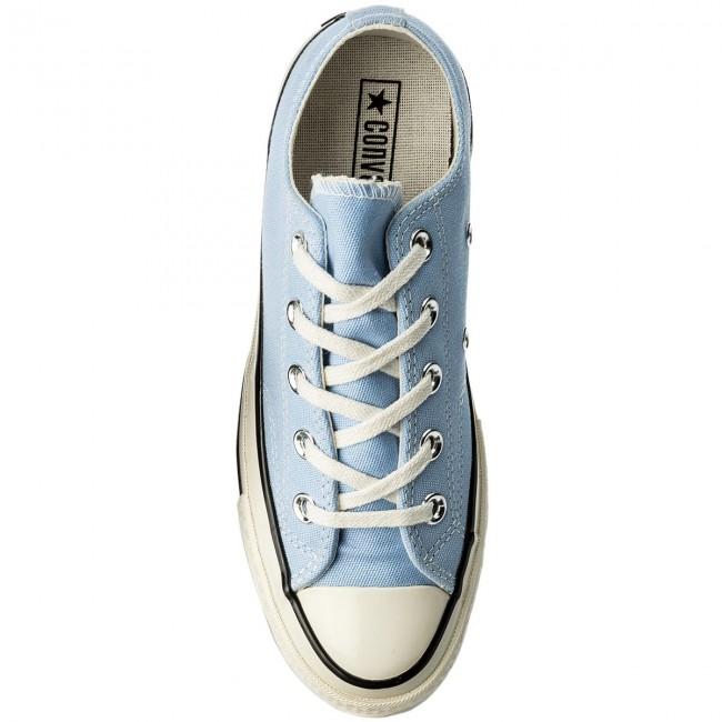 Scarpe da ginnastica CONVERSE - Ctas 70 Ox 159624C Blue Chill/Black/Egret - Scarpe da ginnastica - Scarpe basse - Donna