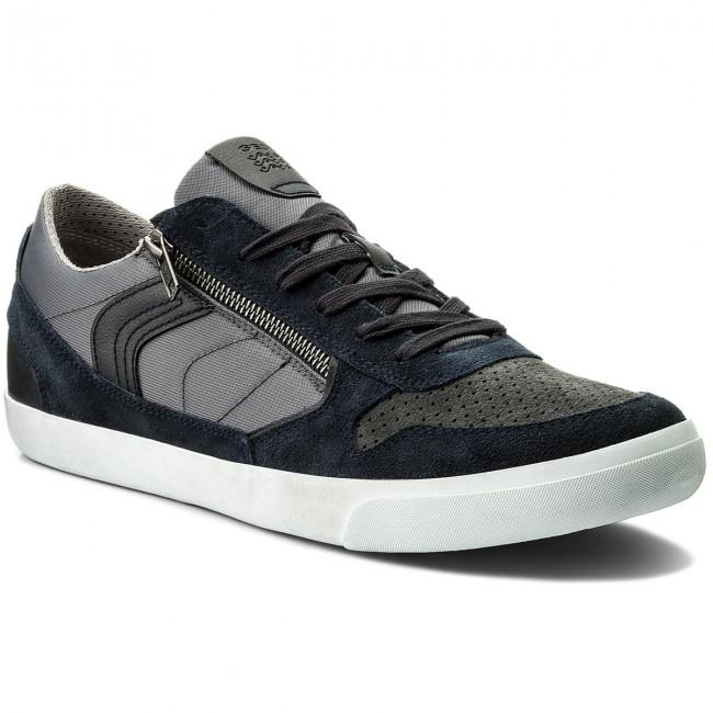 Sneakers GEOX U Box C U82R3C 022FU C0718 NavyDark Grey