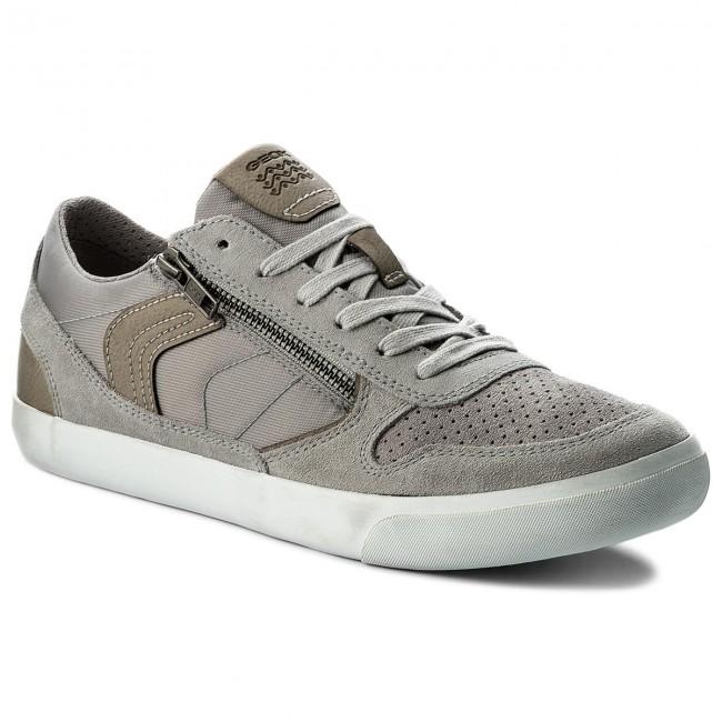 Sneakers GEOX U Box C U82R3C 022FU C1415 Lt GreyStone
