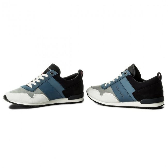 c059c43c2f Sneakers TOMMY HILFIGER - Iconig Color Mix Runner FM0FM00614 Twilight Jeans  904