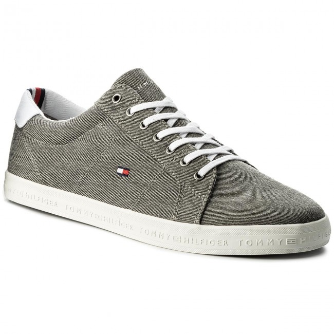 Scarpe sportive TOMMY HILFIGER Essential Long Lace Sneaker FM0FM01490 Light Grey 004
