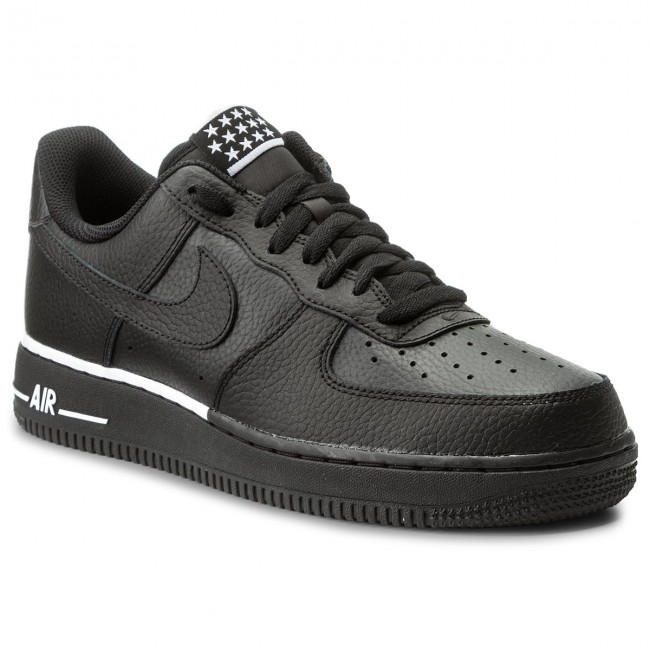 Scarpe NIKE Air Force 1 '07 AA4083 009 BlackBlackWhite