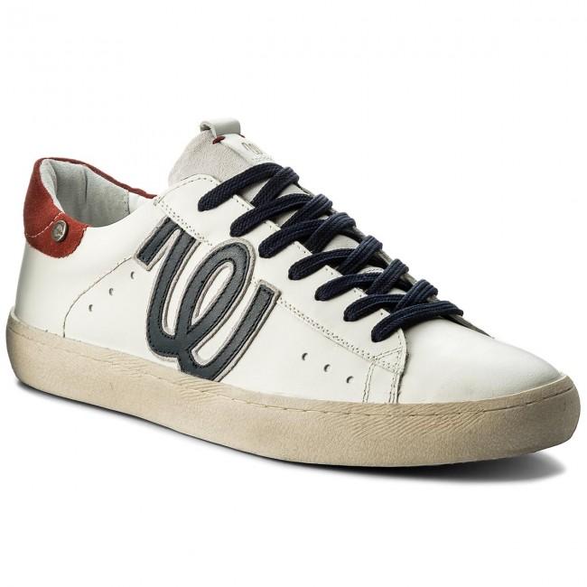 24ae2aa5e8 Sneakers WRANGLER - Clever WM181135 White/Red 415