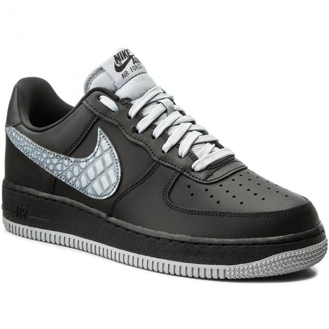 Nike Air Force 1 Low 07 Lv8 Black Cool Grey Uomo