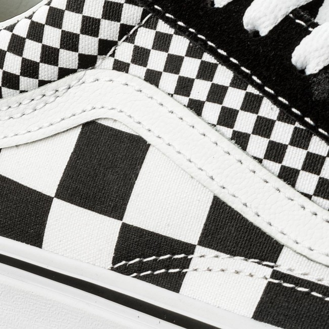 scarpe mix checker old skool vans scarpe mix checker old skool