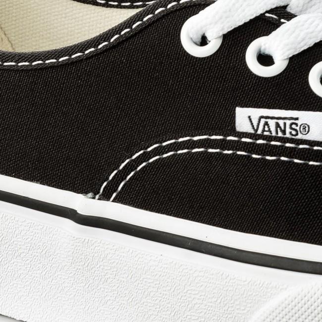 Scarpe sportive VANS - Authentic Platform VN0A3AV8BLK Black