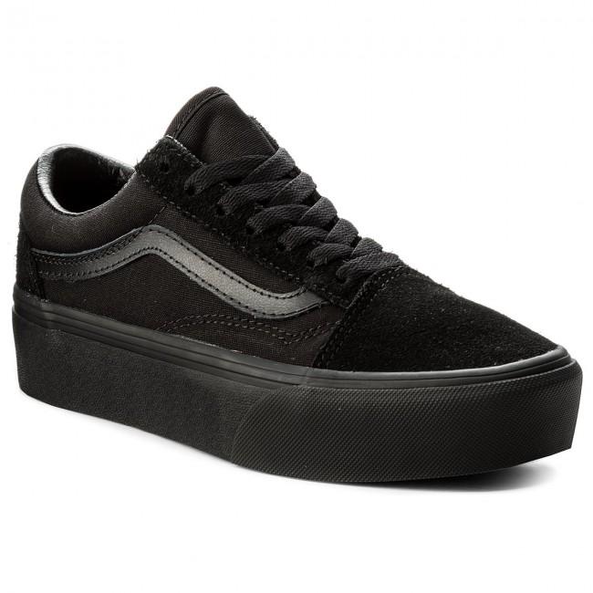 Vn0a3b3ubka Donna Da Platfor Sportive Ginnastica black Scarpe Basse Black Vans Old Skool OlPTwkZiXu