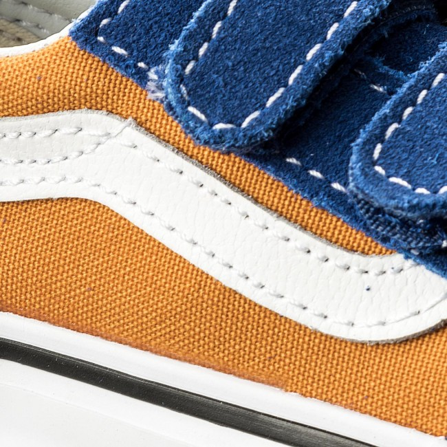 Scarpe basse VANS Old Skool V VN0A344KQ1B (Pop) Og BlueOg Gold