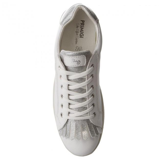 Primigi Bambino Sneakers 1367522 Stringate D Basse Bian Scarpe Bambina F1JTclK