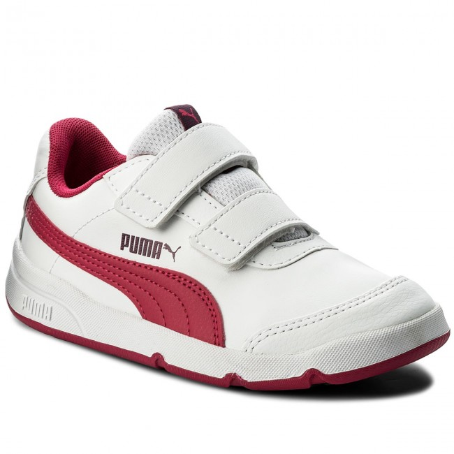 5daf48c9959369 Sneakers PUMA - Stepfleex 2 Sl V Ps 190114 04 Puma White/Love Potion - Con  strappi - Scarpe basse - Bambina - Bambino - escarpe.it