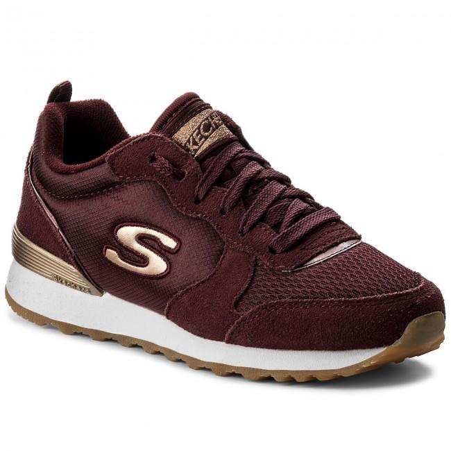 Sneakers SKECHERS - Goldn Gurl 111/BURG Burgundy