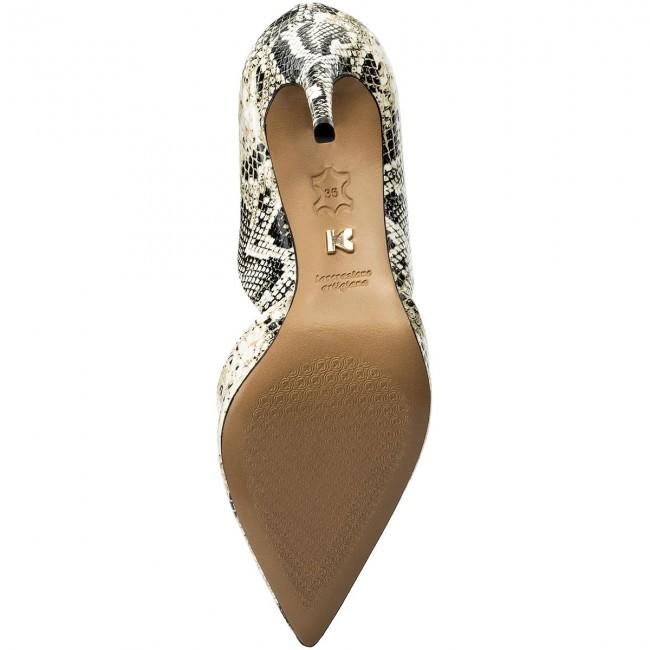 36 Donna Kazar Stiletto black Stiletti Luciana Beige Scarpe Basse l2 31530 lKcF3JT1