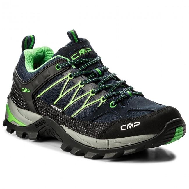 Scarpe da trekking CMP - Rigel Lowtrekking Shoes Wp 3Q54457 B.Blue/Gecko 51AK