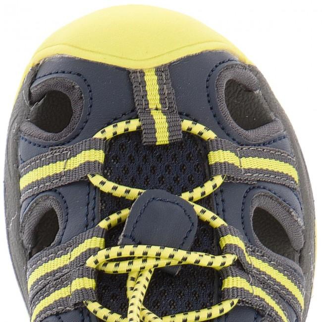 Sandali CMP - Kids Aquarii Hiking Sandal 3Q95474 Antracite/Cedro 44ak - Sandali - Ciabatte e sandali - Bambino - Bambino