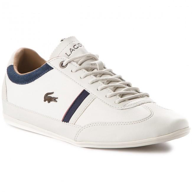 Cam Off 7 2 35cam0081wn1 Lacoste Misano 118 Whitenavy Sneakers qzUVpSM