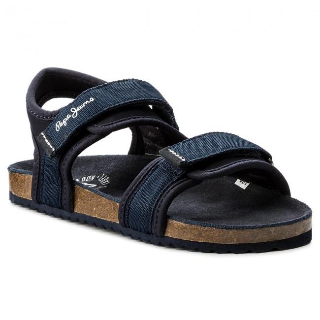 separation shoes 6fb85 eb6dc Sandali PEPE JEANS - Bio Straps Boy PBS90026 Navy 595