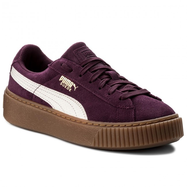 Sneakers PUMA Platform Snk Jr 363906 03 Dark PurpleMarshmallow