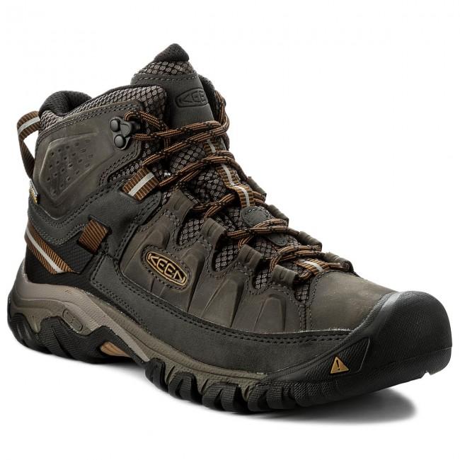 Scarpe da trekking KEEN - Terghee III Mid Wp 1017787 Black Olive/Golden Brown