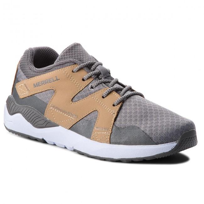 Stringate Bambina 1six8 Grey tan Sneakers Basse Merrell Scarpe Lace My58583 Bambino OXuPkZiT