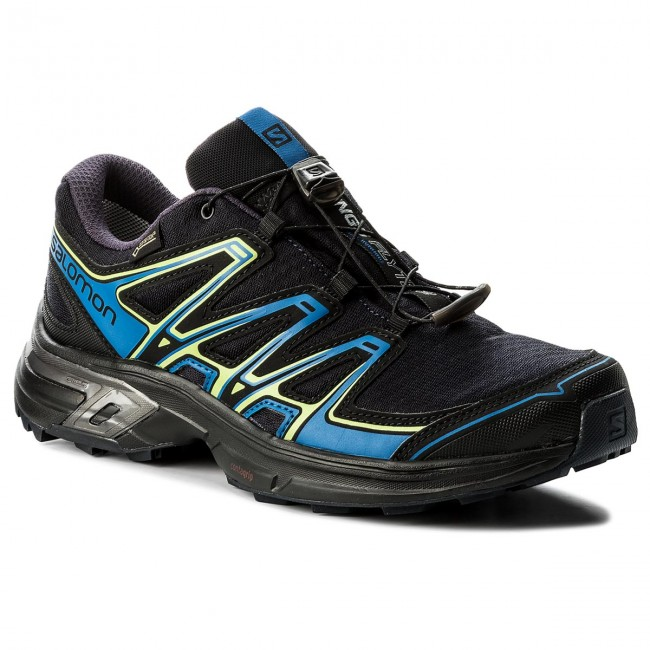 Buy Salomon Wings Flyte 2 Gtx Black Running Shoes online