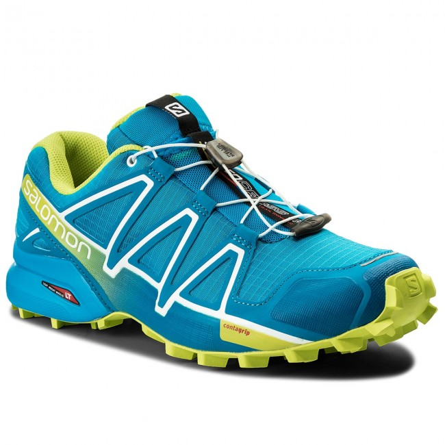 Scarpe SALOMON Speedcross 4 400746 31 V0 Hawaiian SurfAcid LimeWhite