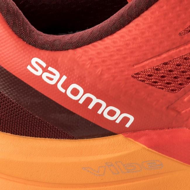 Sconto Salomon Scarpe Sense Pro Max 402380 27 W0 Fiery Red