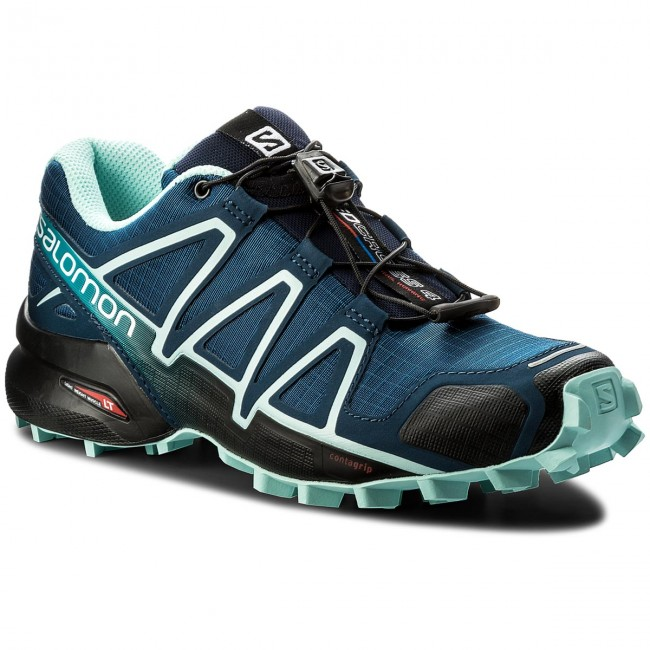 Scarpe SALOMON Speedcross 4 W 402431 20 V0 PoseidonEggshell BlueBlack
