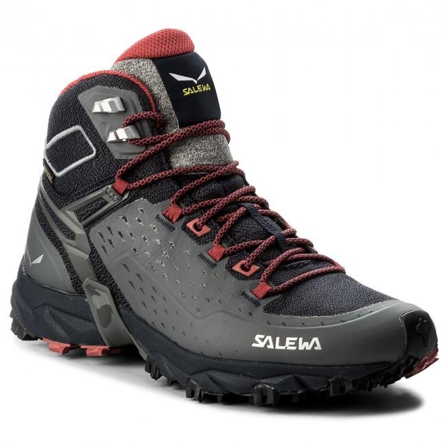 f0c5200ba39e Scarpe da trekking SALEWA - Alpenrose Ultra Mid Gtx GORE-TEX 64417-3992  Night Black/Mineral Red - Scarpe da trekking e scarponcini - Stivali e  altri - Donna ...