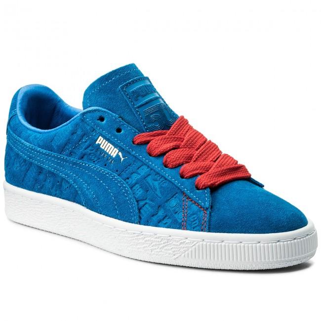 ba039ca08f Sneakers PUMA - Suede Classic Paris 366298 01 Electric Blue Lemonade