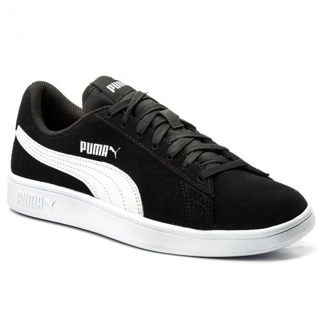 Sneakers PUMA - Smash V2 364989 01 Black Puma/White Puma/Silver