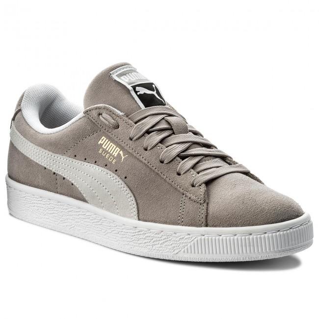 a5246ec811 Sneakers PUMA - Suede Classic 365347 01 Ash/Puma White