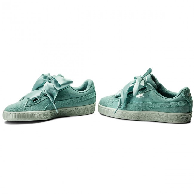 Sneakers PUMA Suede Heart Pebble Wn's 365210 03 AquiferBlue Flower
