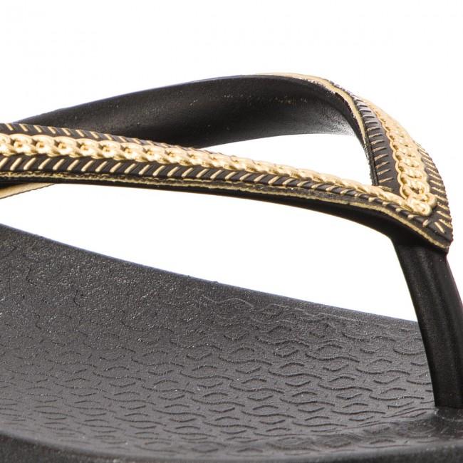Ciabatte Infradito Ipanema Ana E 82021 Donna Metallic Sandali 23480 black Black Fem gold 9E2WHDI
