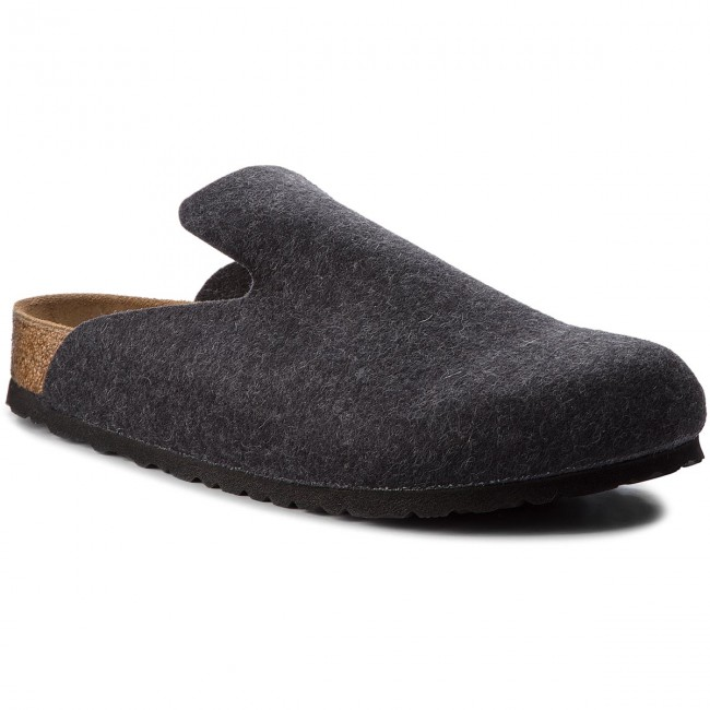 Pantofole Anthracite Uomo 1011220 Ciabatte Davos E Birkenstock Sandali ygbf7vI6mY