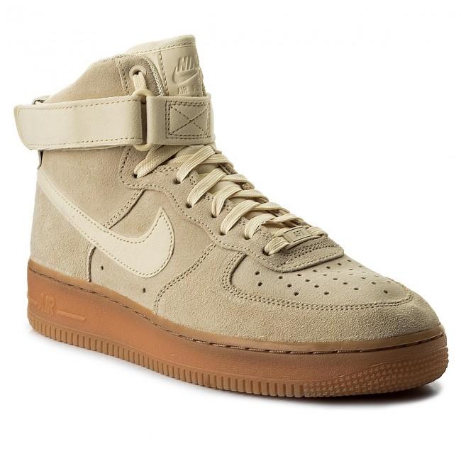 Nike Scarpe Sneakers Aa1118 Air Brown 100 Muslin muslin 1 High gum Med Basse Uomo Force O8PnNwkX0