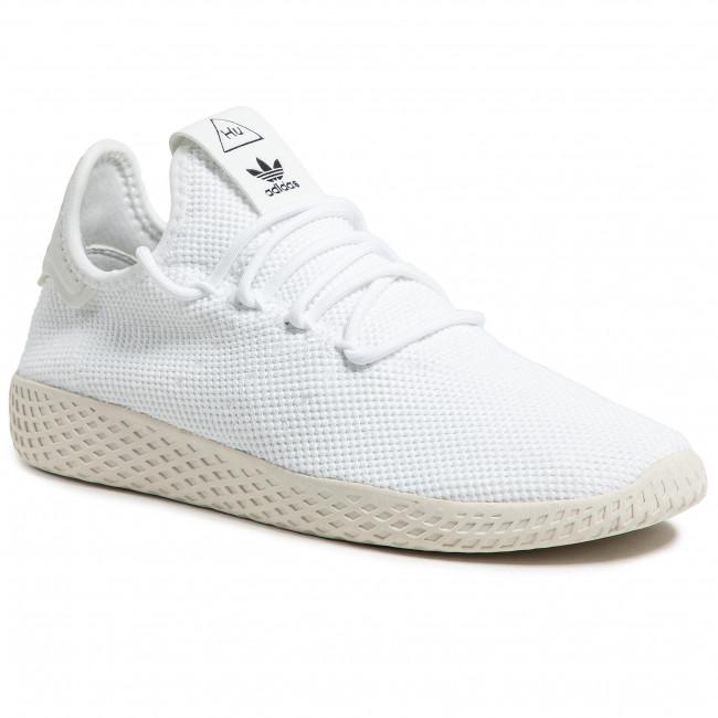 Scarpe adidas - Pw Tennis Hu B41792 Ftwwht/Ftwwht/Cwhite