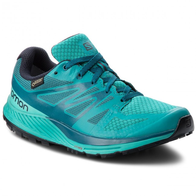 Shoes SALOMON Sense Escape Gtx W GORE TEX 402353 21 W0 Tropical GreenAtlantisDeep Lagon