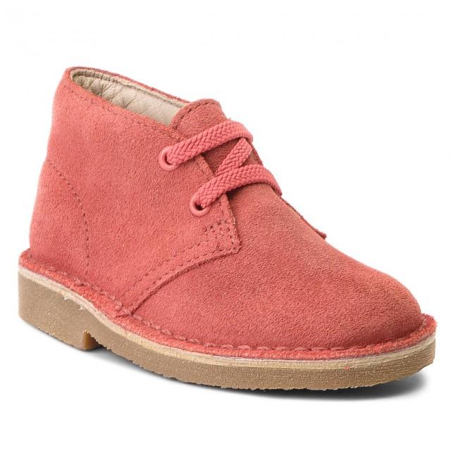 Bambino E Altri 261341487 Clarks Desert Stivali Boot Polacchi Bambina Coral Suede qMSUVGzp