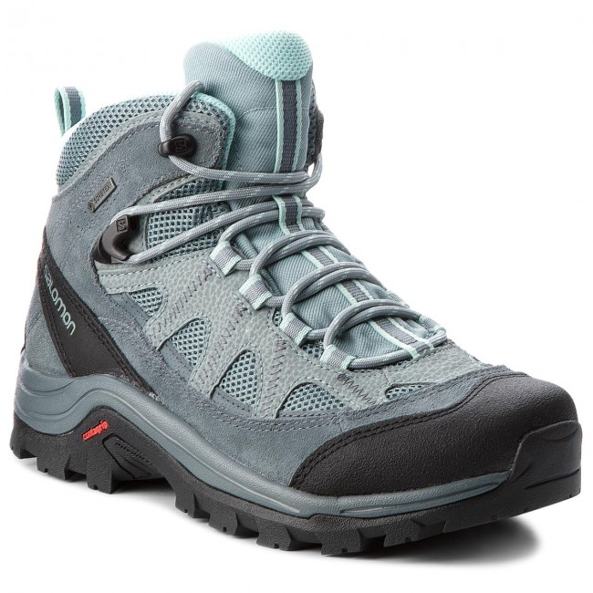 new products d025e 40059 Scarpe da trekking SALOMON - Authentic Ltr Gtx W GORE-TEX 404644 21 V0  Lead/Stormy Weather/Eggshell Blue