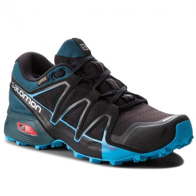 Scarpe SALOMON Speedcross Vario 2 Gtx GORE TEX 404673 27 V0 BlackReflecting PondHawaiian Surf