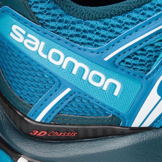 Scarpe SALOMON Xa Pro 3D 404713 30 V0 Mykonos BlueReflecting PondWhite