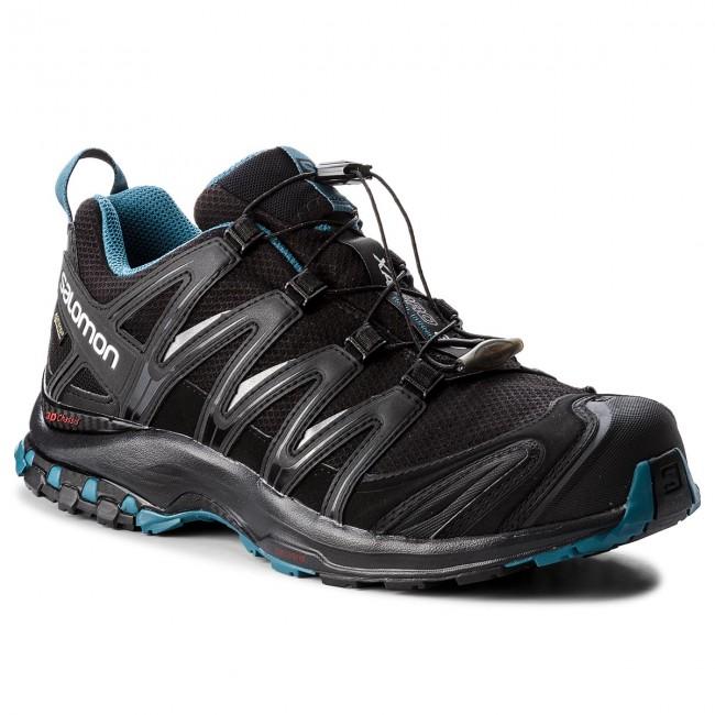 Dettagli su Scarpe uomo hiking Salomon XA PRO 3D GTX NOCTURNE cod.404745