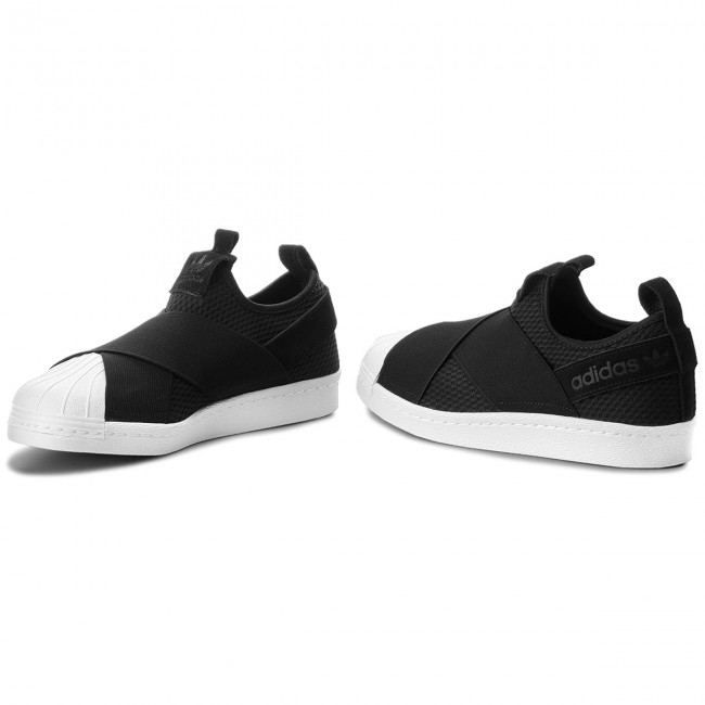 Scarpe adidas Superstar Slip On W B37193 CblackCblackFtwwht